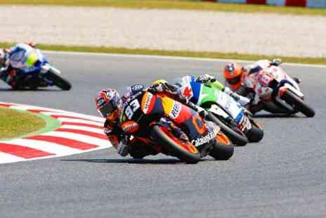 Top Tourisme - Barcelona MotoGP Three Day Ticket Plus 2 Nights stay For Two - Save 50%