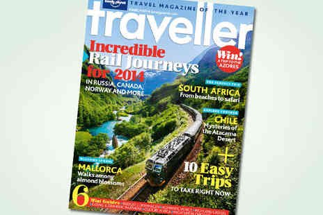 Lonely Planet Magazine - 12 Issue Subscription to Lonely Planet Traveller Magazine - Save 41%