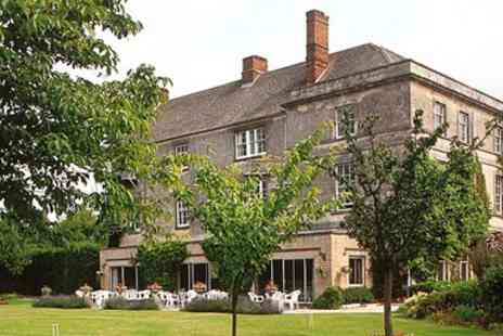 Stratton House Hotel -Country House Afternoon Tea for Two with Bubbly, - Save 53%