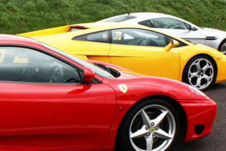 Drive Me - Indulge your Need for Speed with a Supercar Driving Experience - Save 56%