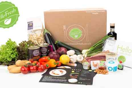 Hello Fresh - Get a Delicious Fresh Meal Box - Save 56%
