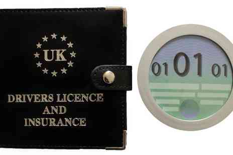 uk mini market - Leather Driving Licence and Insurance Pouch - Save 42%