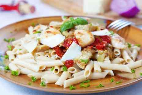 Pasta Fresca - Two Course Italian Dining With Wine For Two - Save 53%