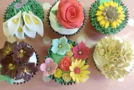 Bake180 - Floral Cupcake Decorating For One - Save 50%