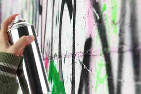 London West Bank - Two Hour Graffiti Class - Save 61%