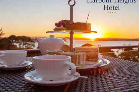 Harbour Heights Hotel - Champagne Afternoon Tea for Two - Save 29%