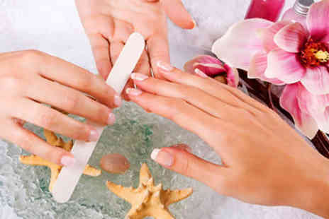 Hands Tanned - £9 for a 45-minute spa manicure - Save 70%
