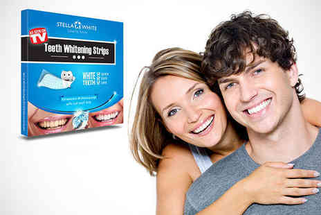 Stella White - Teeth Whitening Strips - Save 77%