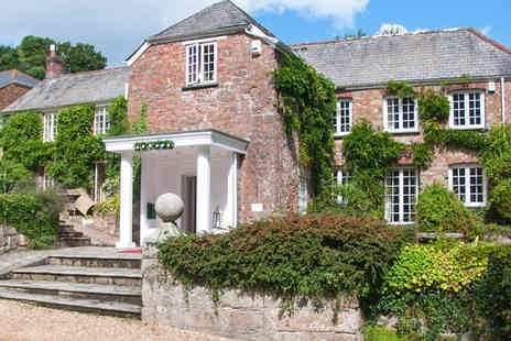 Boscundle Manor Hotel - Two night stay for Two with Cornish Manor Escape - Save 67%