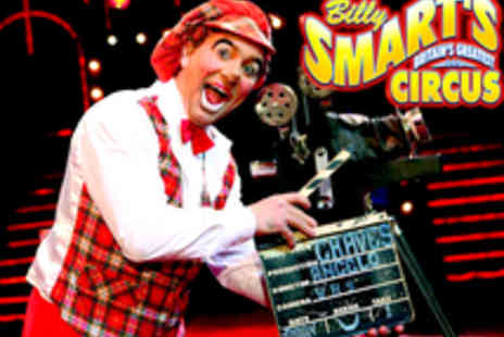 Billy Smart's Circus - Tickets to Billy Smart's Circus at The Heath in Knutsford - Save 60%