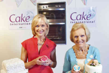 ICHF Events - Two Tickets to Cake International - Save 30%