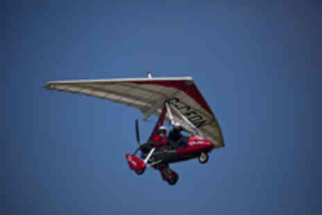 Microlight Flights - Microlight Flight Experience for One Person - Save 45%