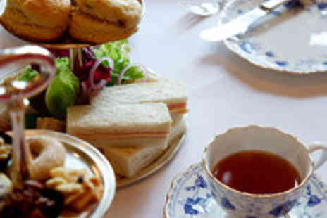 Burnhouse Manor Hotel - Sparkling Afternoon Tea for Two - Save 55%