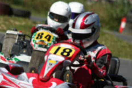 Leicester Karting Stretton Circuit - 30 laps of go karting - Save 62%