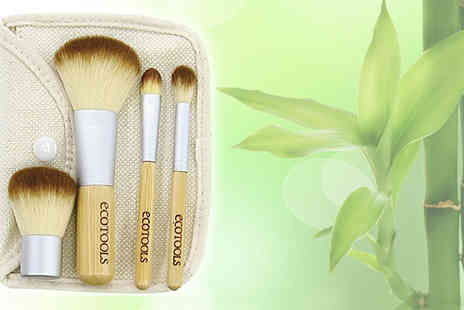 Eggsnog - Organic 5 piece make up brush set - Save 85%