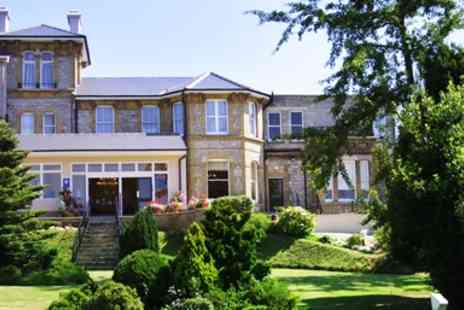 Melville Hall Hotel - Isle of Wight Spa Hotel with three Course Dinner - Save 56%