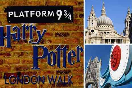 The Celebrity Planet - Three hour Harry Potter London walking tour  - Save 55%