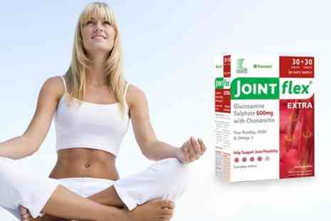 Chemist 4 U - 30 Day Supply of JointFlex Extra or Max Supplement - Save 81%