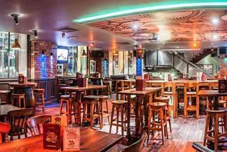 The Parkrow Bar and Brasserie - Burger Pizza or Salad With Drink - Save 58%