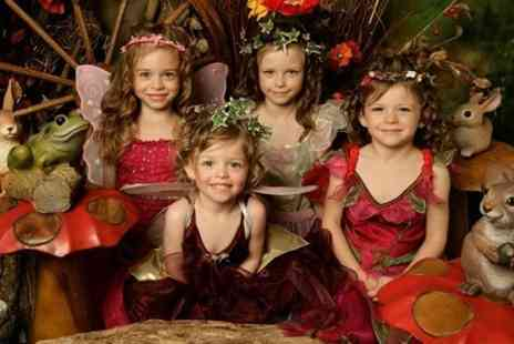 splash studios - Childrens Fairy Themed Photoshoot With Four Prints - Save 50%