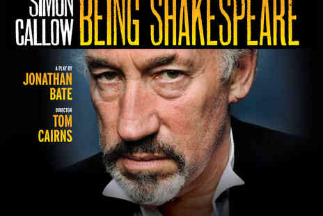 LOVEtheatre -  Ticket to Being Shakespeare Starring Simon Callow - Save 50%