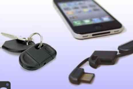Bo vida - Must have iPhone / iPod accessory a keyring USB charger- Save 67%