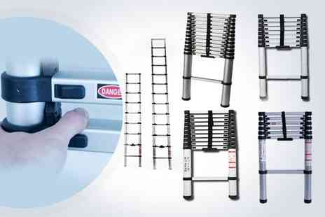 Ladders Direct - 3.81m Lamboro telescopic ladder  - Save 44%