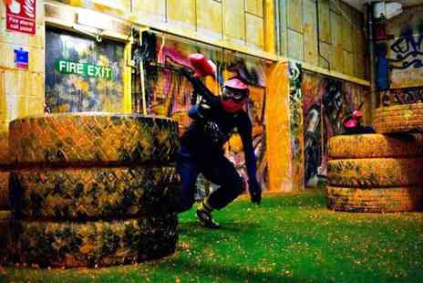 Urban Paintball - Two hours of indoor paintballing for Two - Save 94%