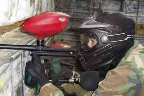 Skirmish Paintball Norwich - Paintballing For Up to 10 With 100 Balls - Save 87%