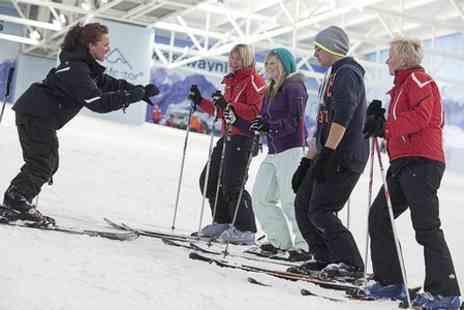 Chill Factore - Skiing or Snowboarding Lesson For One - Save 50%