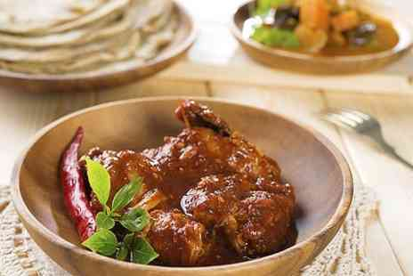 Rajdouth Indian - Two Course Meal For Two - Save 58%
