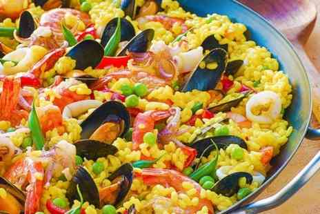 Ochis Restaurant - Paella and Sangria For Two  - Save 60%