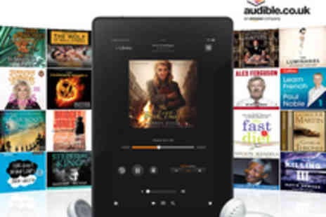 Audible.co.uk - Three Months  Digital Audiobook Membership  - Save 79%