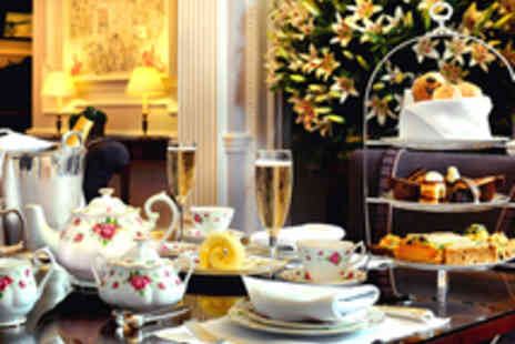 The Lyttelton - Laurent Perrier NV Brut Champagne Afternoon Tea for Two - Save 31%