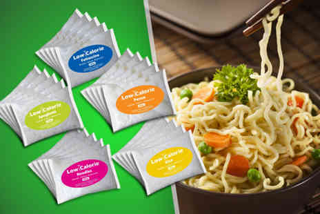 Mood Food Company - 25 x 200g packets of low calorie pasta - Save 62%