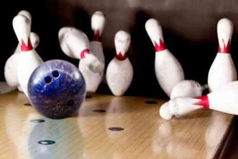 PSL Bowling - Two games of ten pin bowling for 2 people including a hot dog  - Save 71%
