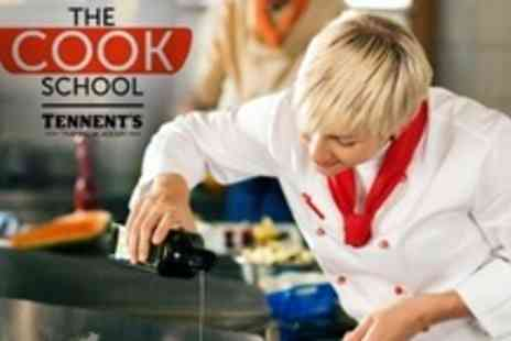 Tennents Training Academy - Four Hour Cookery Masterclass With Two Course Meal and Drinks - Save 60%