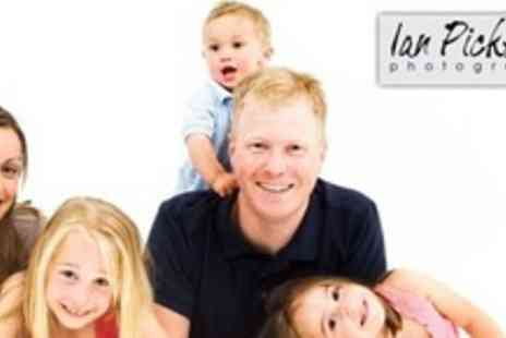Ian Pickering - Family Portrait Photo Shoot in Studio, or On Location, or Makeover Experience For One - Save 92%