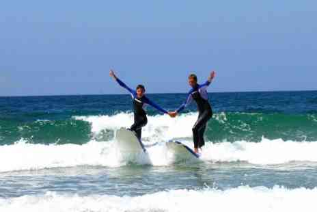 Rocco Adventure Sports - Portugal Surfing Seven Nights stay For One With Lessons and Breakfast  - Save 55%