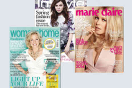 IPC Media - Voucher for a One Year Subscription to Marie Claire, InStyle or woman&home Magazines - Save 68%