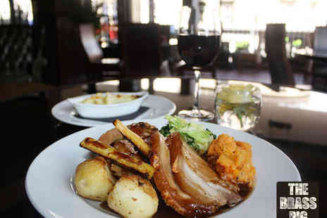 The Brass Pig - Sunday Roast for Two  - Save 50%