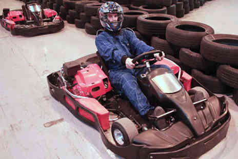 Bredbury Karting - 15 Minute Go Karting Session for One - Save 33%