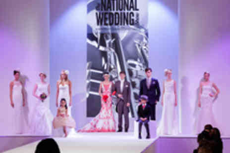 The National Wedding Show - Two Tickets to The National Wedding Show - Save 35%