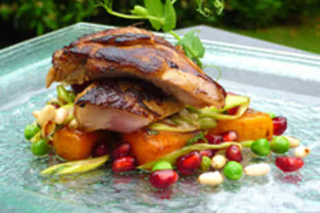 The Old Vicarage Restaurant - Michelin Starred Seasonal Four Course Dining for Two - Save 21%