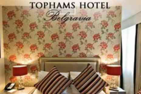 Tophams Hotel - Romantic One Night Stay For Two With Three Course Meal and Champagne - Save 53%
