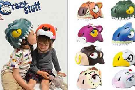 Crazy Stuff -  Animal designs Childrens Cycle Helmets  - Save 49%