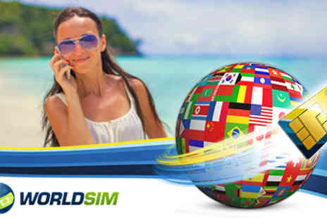 World SIM - Stay connected wherever you are in the world with this Worldwide Sim card - Save 67%