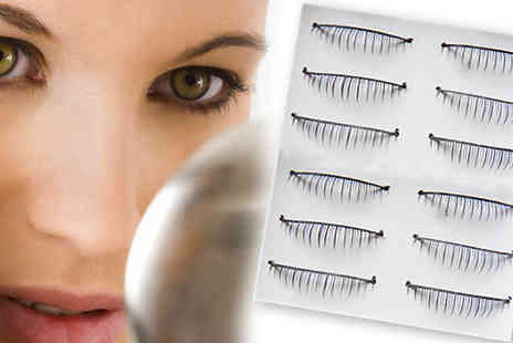 Flutterby Glam - 10 pairs of lower false beauty lashes - Save 53%