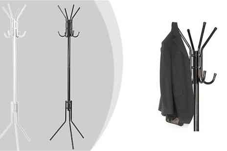 Mytouchscreen - Modern Eight Hook Coat Stand - Save 50%