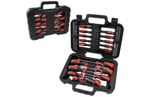 D1 Design & Creative - Comprehensive 58 Piece Screwdriver Set - Save 43%